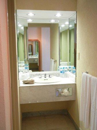 DoubleTree by Hilton Veracruz: Lavabo afuera del baño