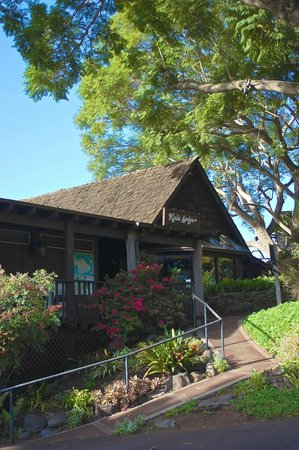 The Kula Lodge: 入口