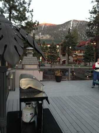 Stardust Lodge: rooftop BBQ was really nice!
