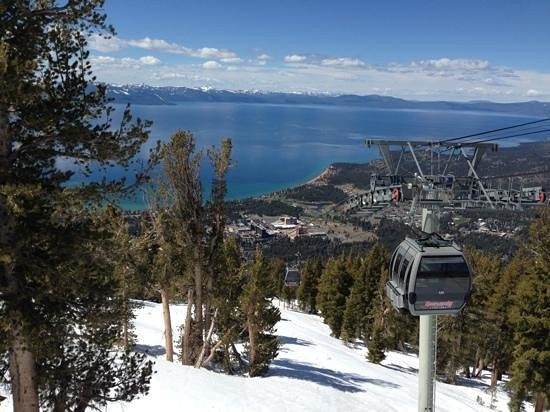 Stardust Lodge: The view from the gondola at Heavenly