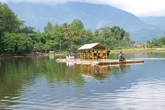 Temple Lake near Garut Java