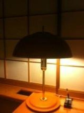 The Hilltop Hotel: Lamp