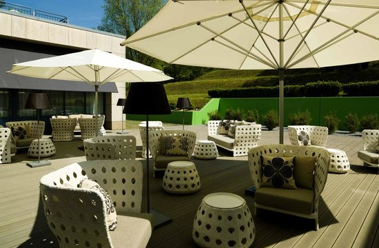 Parkhotel Restaurant: Living Room Terrace