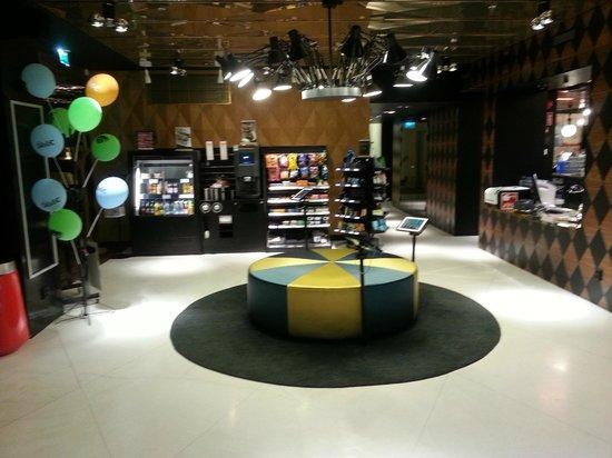 Scandic Paasi: Snack Bar & IPad corner at the Lobby