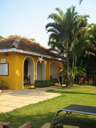 Baia Do sol: Внутренний дворик в отеле