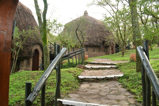 Serengeti Serena Safari Lodge: las habitaciones son cabañas independientes
