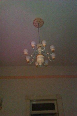 Meson del Obispado: Authentic Mexican chandelier
