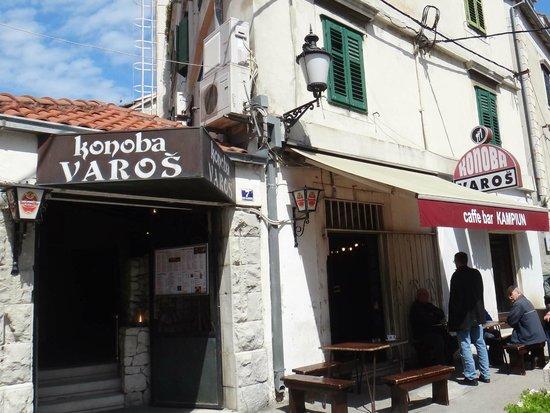 Konoba Varos is in the center of Split