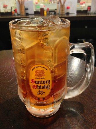 Tachinomi tavern Kanamachi Seimen: アンクルトリスハイボール(メガサイズ)