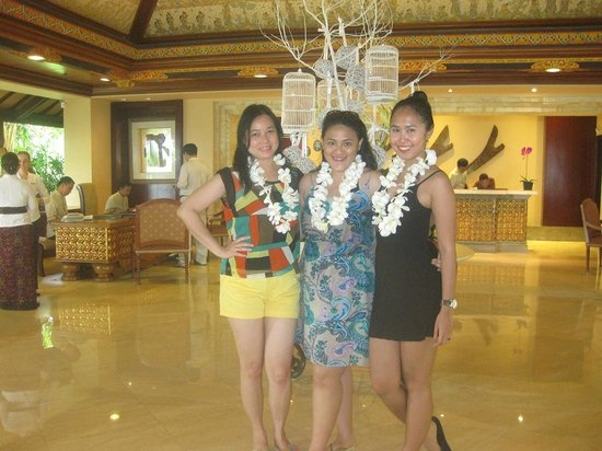 AYANA Resort and Spa Bali: Welcome Flower.. I love it