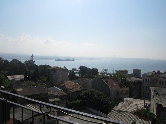 Hotel Emre: Vista dalla terrazza della colazione