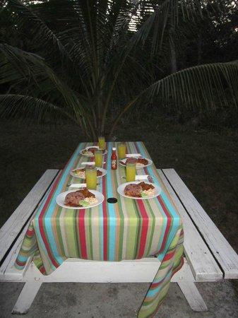 Nature Resort: diner en pleine nature