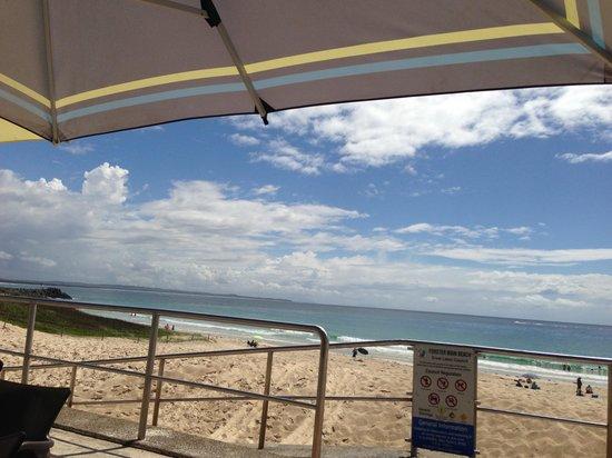 Beach Bums Cafe : Strand