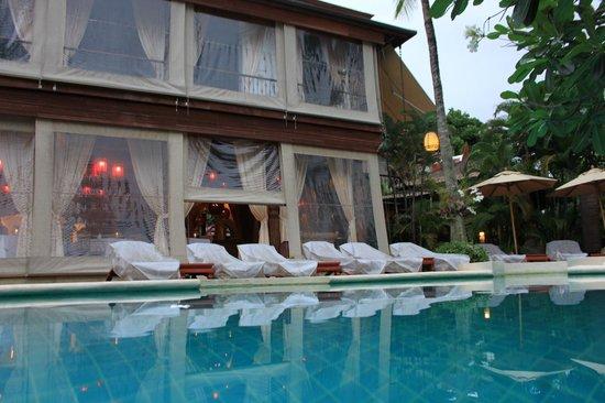 Zazen Boutique Resort & Spa: vue du restaurant