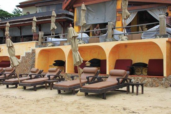 Zazen Boutique Resort & Spa: vue de la plage