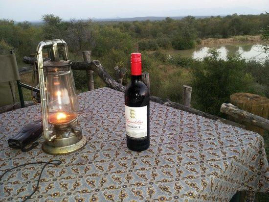 Garonga Safari Camp: View from the sleeping platform