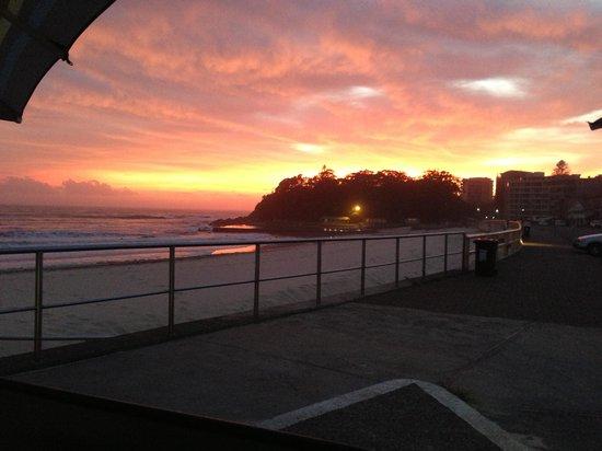 Beach Bums Cafe : Beautiful isn't it ?