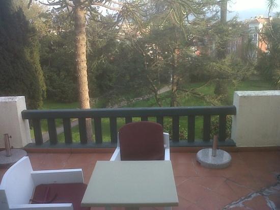 Hotel Escuela Las Carolinas: Terraza habitación