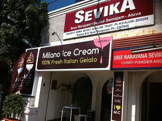 Milano Ice Cream.