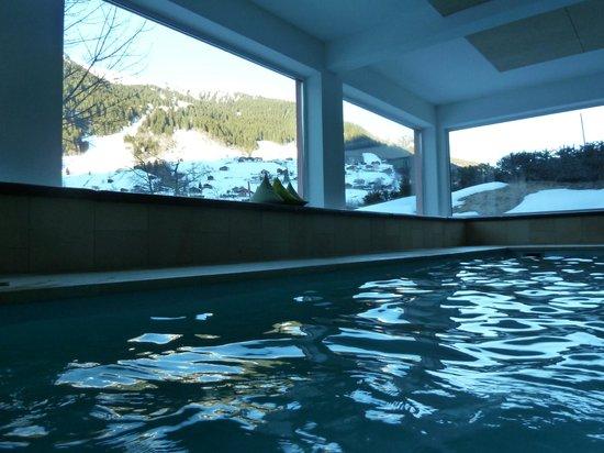 Hotel Sonnblick: Avec vue sur la Montagne, le matin