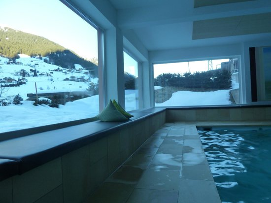 Hotel Sonnblick: La piscine