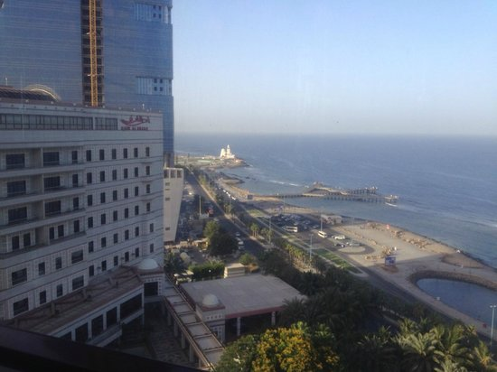 Jeddah Hilton: Outside view from Executive lounge