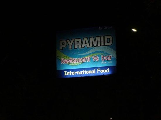 Pyramid Restaurant : l'enseigne pour ne pas se tromper