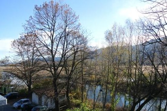 La Locanda al Lago: Veduta della Riserva Naurale dal terrazzino