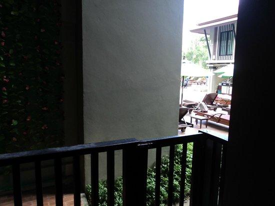 Ananta Burin Resort: Vue de notre chambre