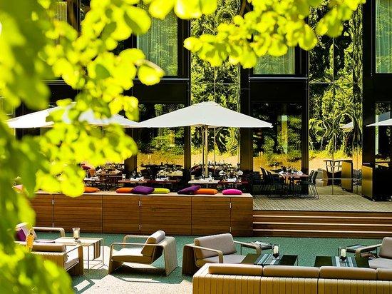 City Garden Hotel : Terrasse