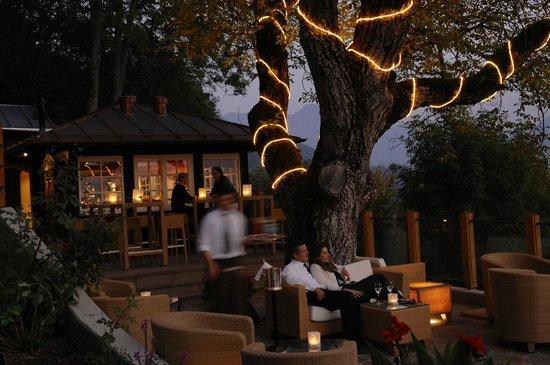 Hotel Leeberghof: Sassa Bar Terrasse