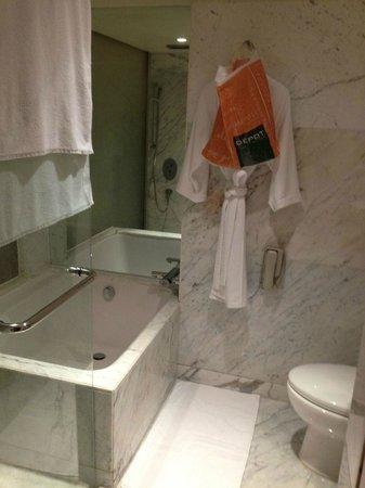 Hyatt Regency Delhi: bathroom