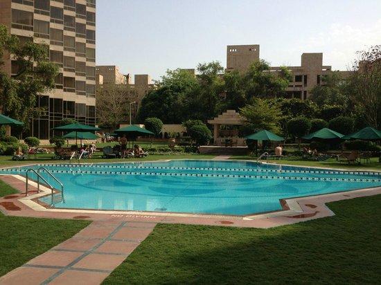 Hyatt Regency Delhi: pool area