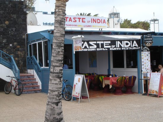Taste of India: To help locate it