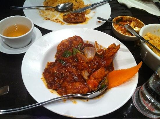 Mainland China: shrimp
