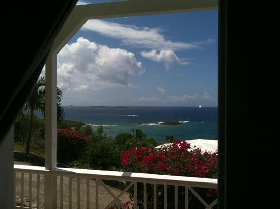 Villa Marbella Suites: View from bedroom window, Cruzan view!