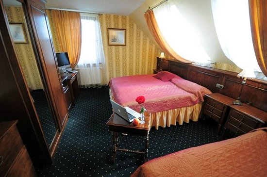 Rowing Hotel (Academia Remigum) : Triple room (three separate beds or one double bed with single bed)
