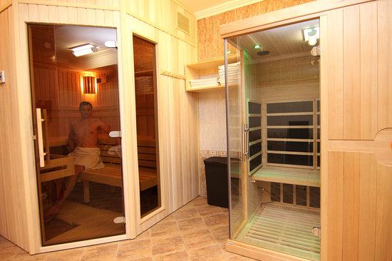 Villa Savoy Spa Park Hotel: Sauna