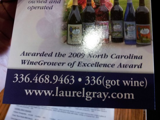 Laurel Gray Vineyard & Winery: You gotta try the sauces