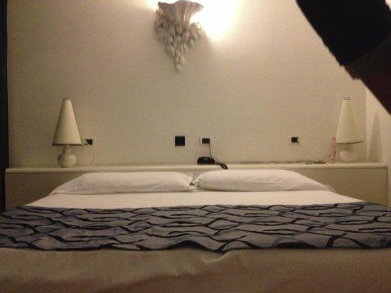Luxor Hotel Rimini: letto