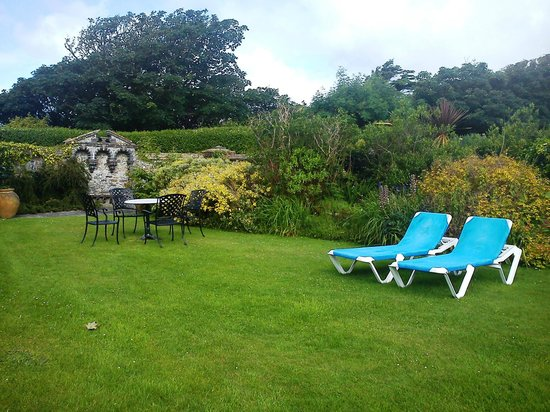 Warpool Court Hotel : Garten