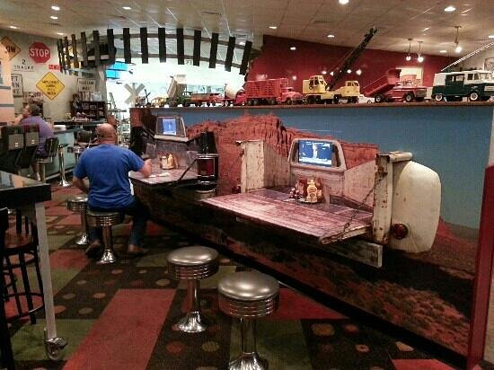 Derailed Diner : tailgate tables