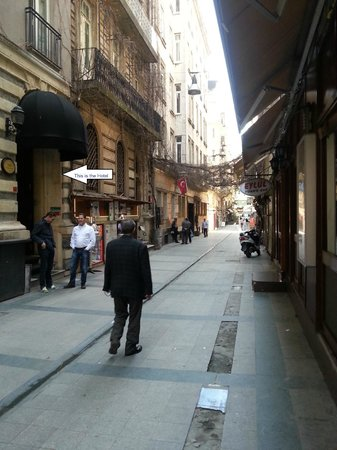 Misafir Suites 8 Istanbul: Misafir 8 Suites Hotel entrance
