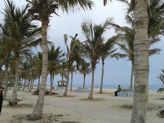Maryam Beach: Beside the beach