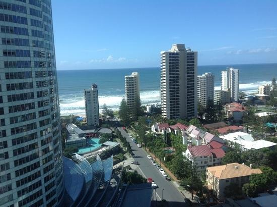 ‪‪Watermark Hotel & Spa Gold Coast‬: view from room‬