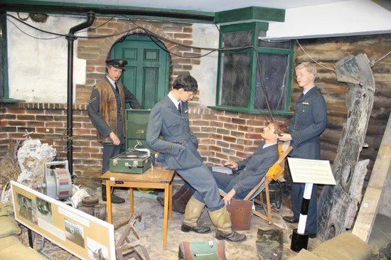 Museum of Army Flying: Wartime recreation