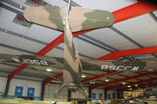 Museum of Army Flying: Auster Reconnaisance aircraft