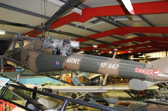 Museum of Army Flying: Westland Scout Helicopter