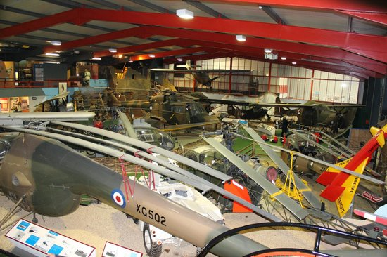 Museum of Army Flying: Overall view of the first ground floor hall