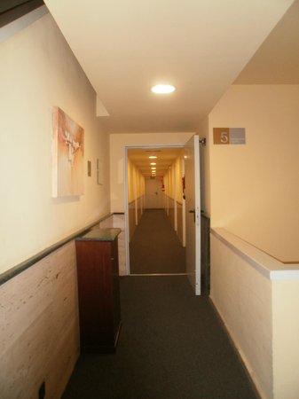 Exe Mitre: corridor